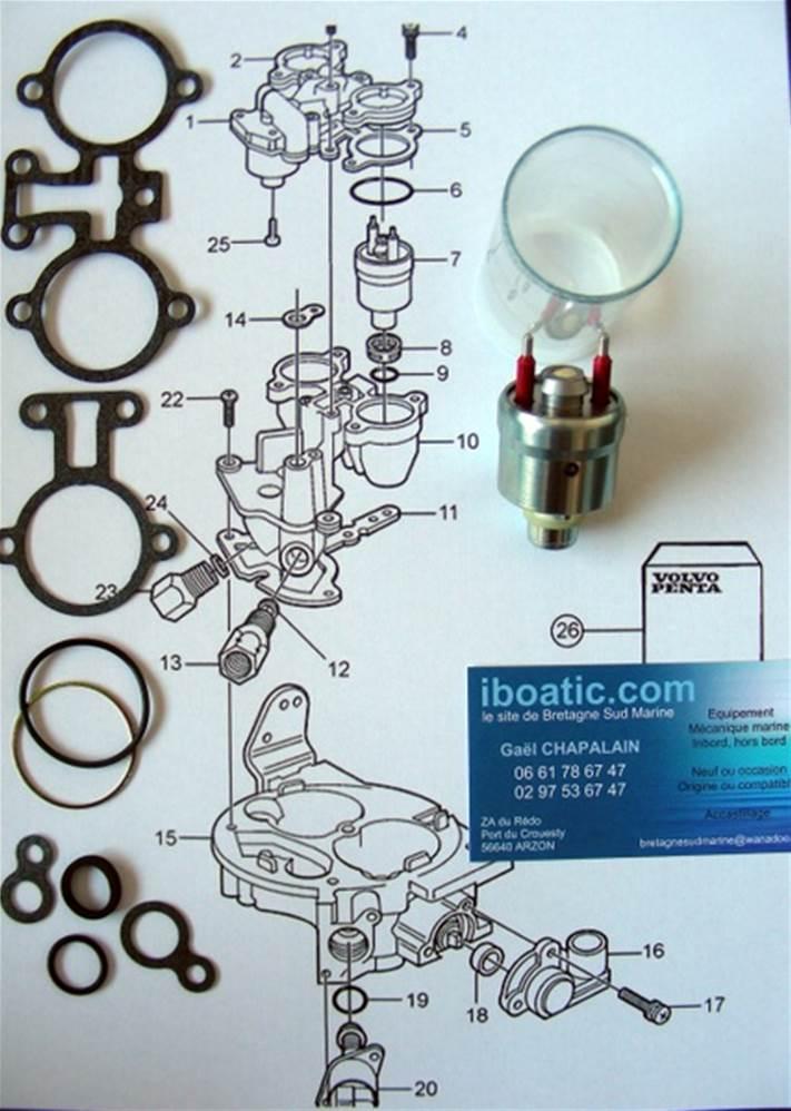 injecteur origine volvo 3855182. Black Bedroom Furniture Sets. Home Design Ideas